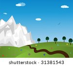 illustration drawing of... | Shutterstock .eps vector #31381543