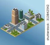modern illustration of an... | Shutterstock .eps vector #313842542
