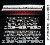 Vector Font In Car Emblem Decal ...