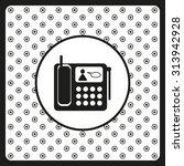 phone. icon. vector design | Shutterstock .eps vector #313942928