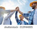 business  building  partnership ... | Shutterstock . vector #313944005