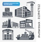 building industry and... | Shutterstock .eps vector #313947512