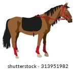illustration on a white... | Shutterstock .eps vector #313951982