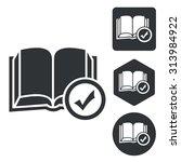 select book icon set ...