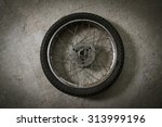 motorcycle wheel | Shutterstock . vector #313999196