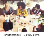 diverse architect people group...   Shutterstock . vector #314071496