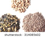 Three Heaps Of Seeds And Nuts...
