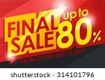Final Sale Banner.vector...