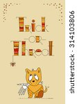vector doodle design for... | Shutterstock .eps vector #314103806