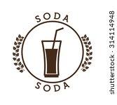 fresh soda design  vector... | Shutterstock .eps vector #314114948