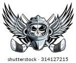ice hockey goalie   Shutterstock .eps vector #314127215
