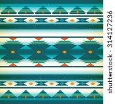 vector seamless native american ... | Shutterstock .eps vector #314127236