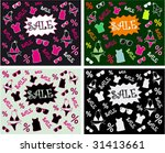 collection colorful blackboard... | Shutterstock .eps vector #31413661