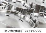 stainless steel pots | Shutterstock . vector #314147702