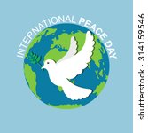 Peace White Dove With Olive...