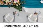 elegance table set up for... | Shutterstock . vector #314174126