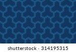 seamless navy blue enhanced... | Shutterstock .eps vector #314195315