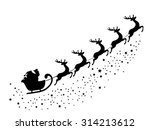 vector illustration of santa... | Shutterstock .eps vector #314213612