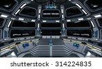 3d illustration of space station | Shutterstock . vector #314224835