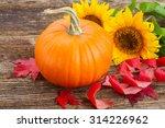 One Orange Pumpkin With...