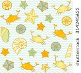 sea wildlife animals logos... | Shutterstock .eps vector #314245622