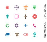technology icons universal set... | Shutterstock .eps vector #314252036