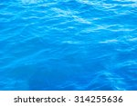 Waving Water Surface Of The Se...
