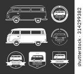 Set Of Vintage Car Service...