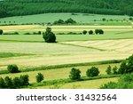 landscape. autumn. fields and... | Shutterstock . vector #31432564