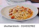 orecchiette with potatoes... | Shutterstock . vector #314332982