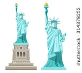 vector statue of liberty design ... | Shutterstock .eps vector #314378252
