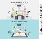 flat designed illustrations for ... | Shutterstock .eps vector #314388368