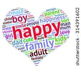 family info text graphics and... | Shutterstock .eps vector #314391602