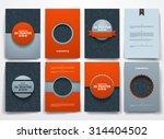 vector design brochures with...