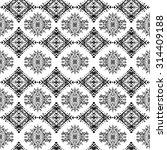 ethnic seamless pattern. ethno... | Shutterstock .eps vector #314409188