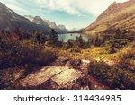 Autumn In Glacier Np  Montana ...