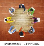 people meeting corporate... | Shutterstock . vector #314440802