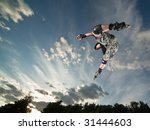 ultra wide angle photo of a... | Shutterstock . vector #31444603