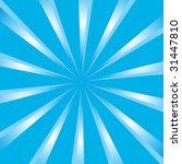 retro sunburst vector background | Shutterstock .eps vector #31447810