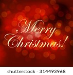 abstract red christmas... | Shutterstock .eps vector #314493968