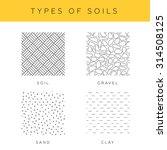 types of soils  vector set....   Shutterstock .eps vector #314508125