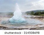 The Great Geyser Erupting....