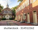 carpenters hall | Shutterstock . vector #314512262
