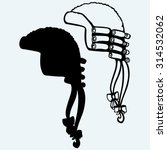 antique horsehair judges wig....   Shutterstock .eps vector #314532062