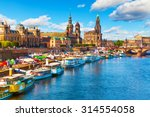 scenic summer view of the old...   Shutterstock . vector #314554058