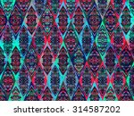abstract geometric background... | Shutterstock .eps vector #314587202