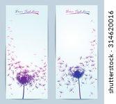 Vector Dandelion Flower...
