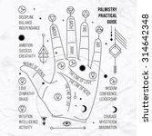 vector illustration of open... | Shutterstock .eps vector #314642348