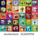 business people | Shutterstock .eps vector #314655956