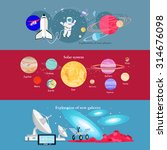 space exploration cosmic... | Shutterstock .eps vector #314676098